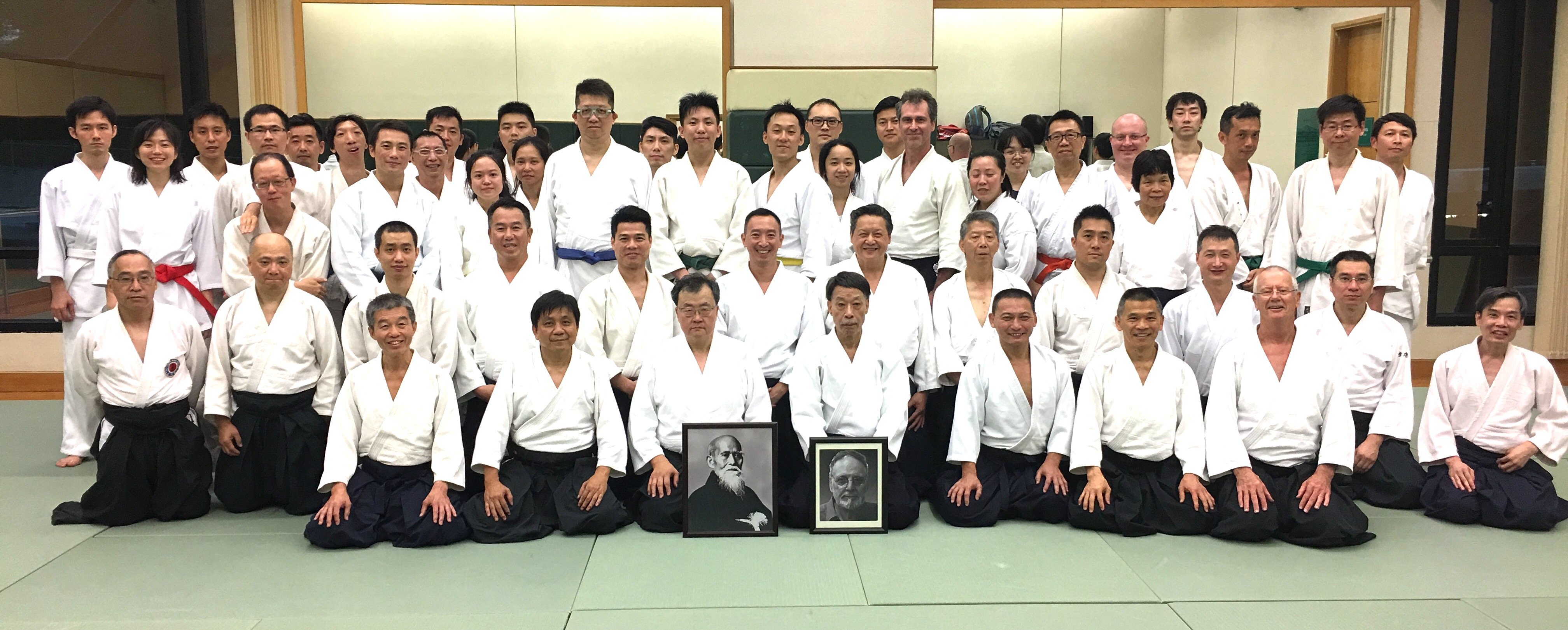 Cottier Shihan Memorial Practice and Embu, Ho Man Tin Dojo, 10 June 2017