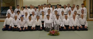 HKAA 10th Cottier shihan memorial practice group photo
